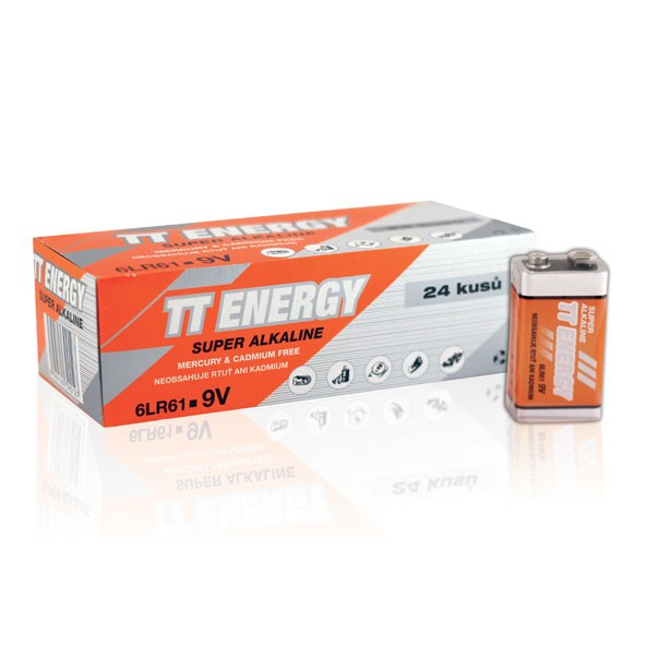 Baterie TT Energy 9V 24ks