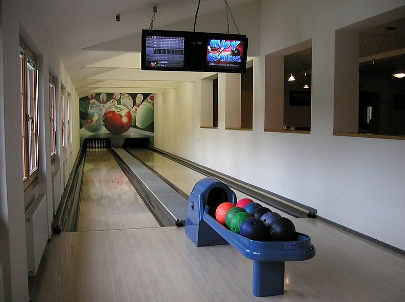 Bowling hotelu Horal